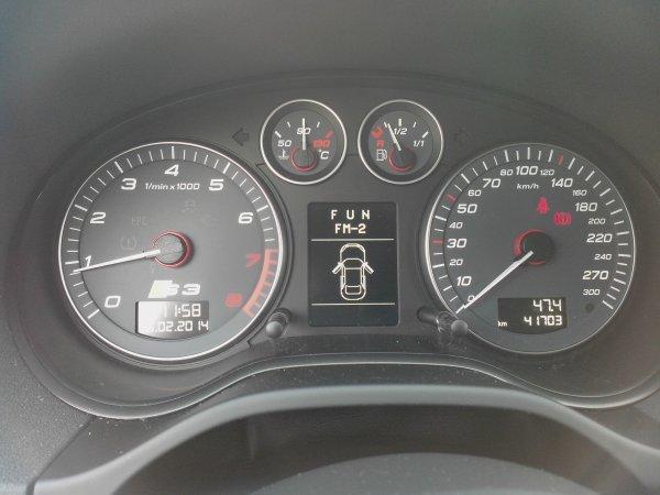 AUDI S3 SPORTBACK PHASE II AN 01/2009 41800KMS  (VENDU LE 15/03/2014)