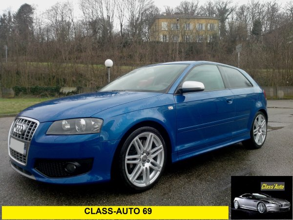 Audi S3 2l TFSI TOIT OUVRANT  265cv quattro 51500kms 02/2008 (VENDU LE 08/03/2014)