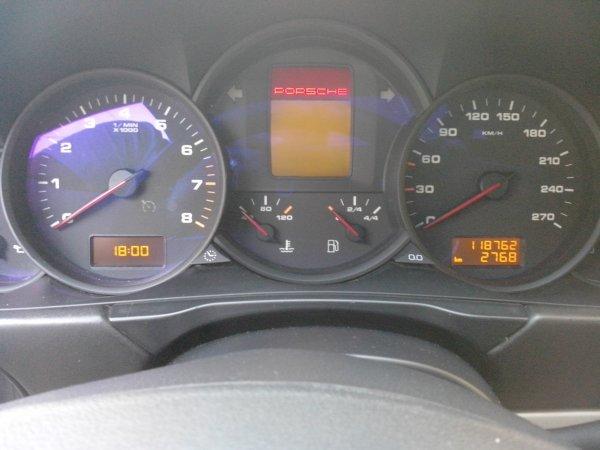 Porsche cayenne 3.2 V6 250 TIPTRONIC S 118000KMS (VENDU LE 23/04/2014)