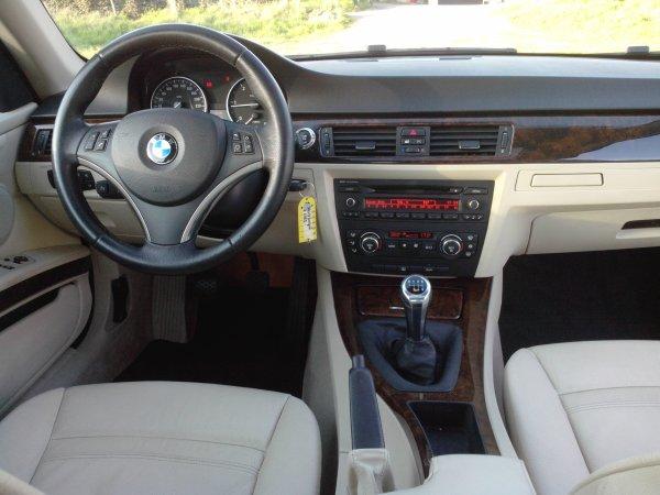 BMW 320 CD COUPEE E92 AVEC 58000KMS DU 08/2007 PACK LUXE (VENDU LE 01/08/2014)