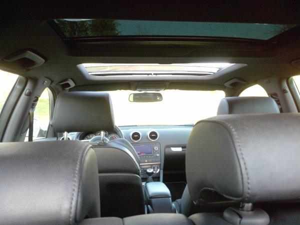 Audi S3 sportback opensky 2l TFSI 265cv quattro 53000kms 09/2008 BLeu istoril (VENDU LE 09/10/2014)
