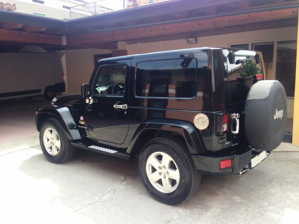 SUPERBE Jeep wrangler 2.8l 177cv sahara cuir BA AN 05/2008 (VENDU LE 21/06/2014)