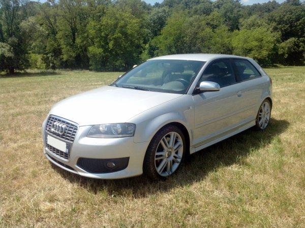 Audi S3 2l TFSI 265cv quattro 56000kms D ORIGINE (VENDU LE 08/10/2014)