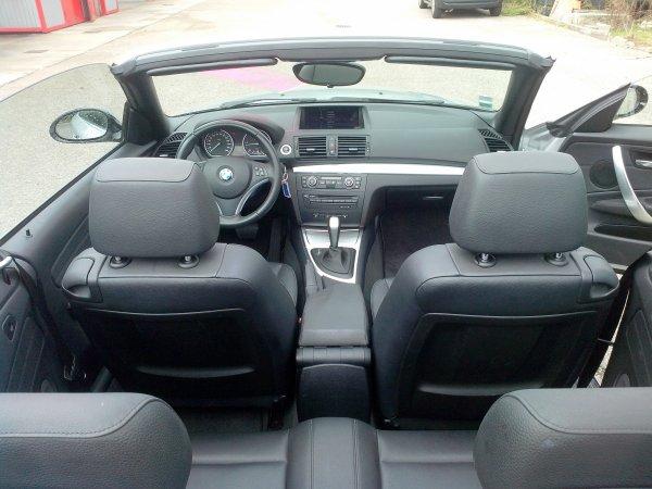 Bmw 120d cabriolet 41000kms pack luxe AN 05/2009 (VENDU LE 13/12/2014)