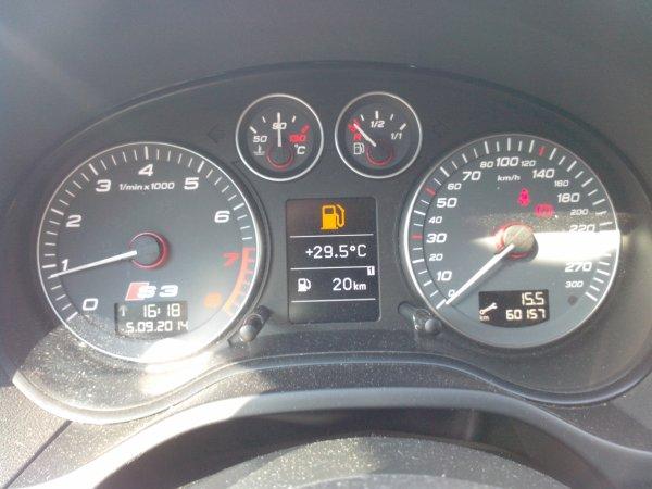 Audi S3 II 2l TFSI AN 10/2009 60000km D ORIGINE (VENDU LE 27/02/2015)