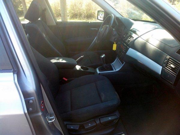 BMW X3 PHASE II AN 09/2007 194000KMS 2L 150CV (VENDU LE 18/10/2014)
