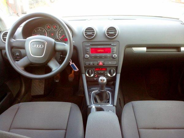 Audi A3 sportback 1.9L TDI 105CV 118500kms AN 03/2007 (vendu le 29/11/2014)