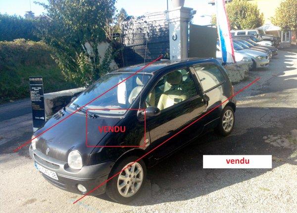TWINGO INITIAL AN 05/2004 1.2L 16V 75CV (VENDU LE 18/12/2014)