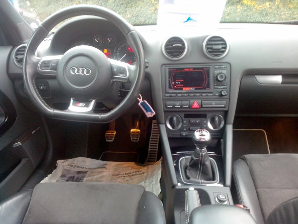 Audi S3 II 2l TFSI AN 12/2007 60000km D ORIGINE FULL OPTIONS (VENDU LE 08/12/2014)