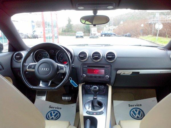 AUDI TT 3.2L V6 250CV DSG S-LINE QUATTRO 01/2008 68000KMS (VENDU LE 30/01/2015)