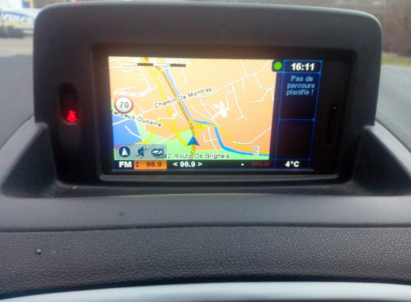 renault clio iii gt gps tomtom 1 6l 128cv an 02 2011. Black Bedroom Furniture Sets. Home Design Ideas