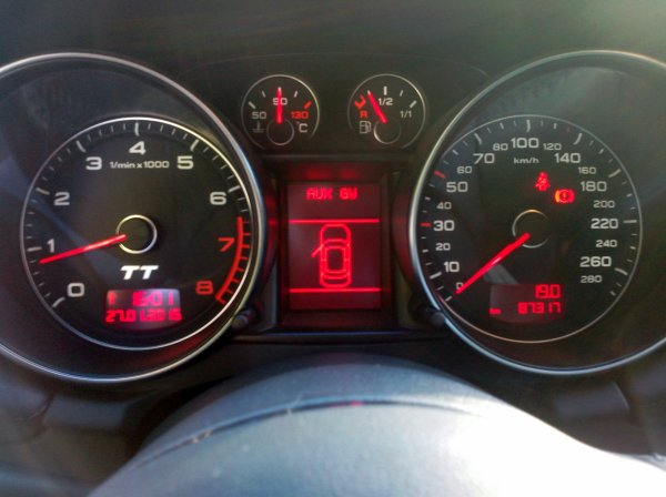 AUDI TT 2L TFSI 200CV AN 06/2007 85000KMS EXCELLENT ETAT (VENDU LE 11/03/2015)