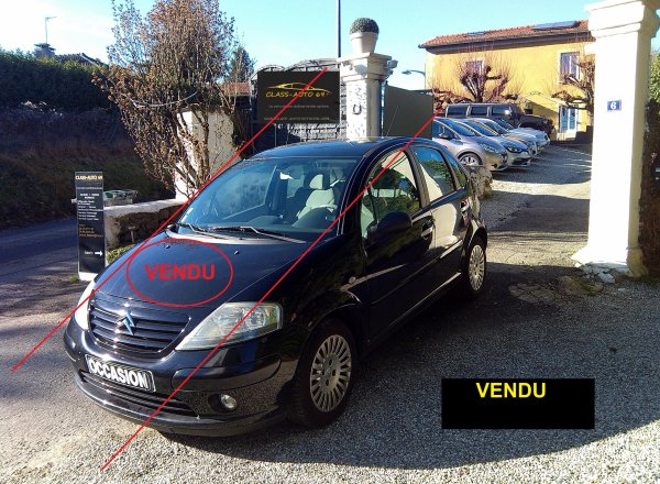 Citroen c3 1.4l exclusive 78000kms an 06/2004 (VENDU LE 25/03/2015)
