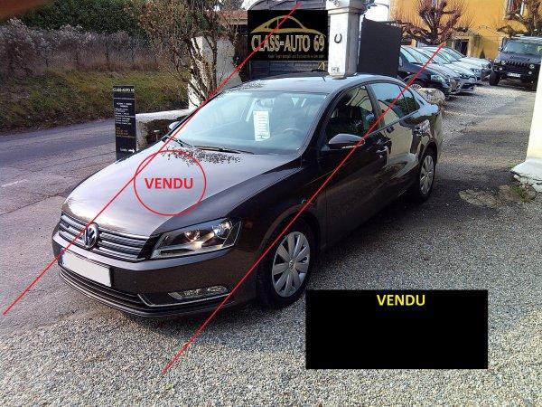 VOLKSWAGEN PASSAT 1.6L TDI 105CV BUSINESS GPS 10/2013 8000 KMS RÉEL (VENDU LE 31/03/2015)