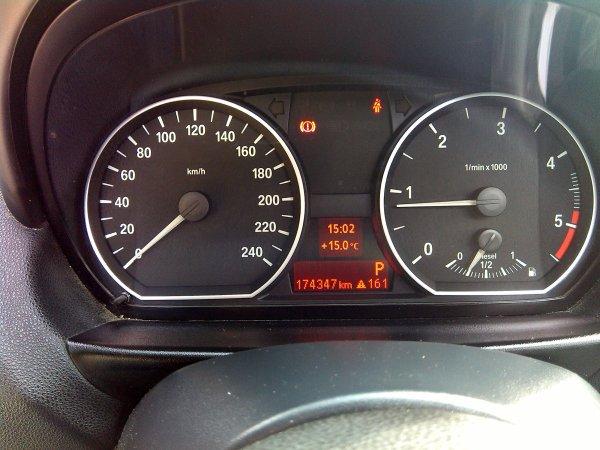 BMW 120D BA PACK M AERO 174000KMS 163CV 5 PORTES AN 01/2007 (VENDU LE 31/03/2015)