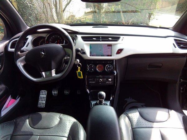 CITROEN DS3 1,6L THP 155CV GPS MYWAY AN 02/2010 60000KMS (VENDU LE 06/06/2015)