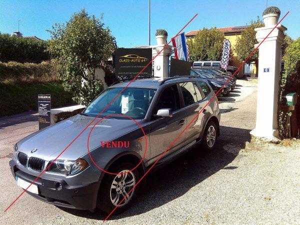 SUPERBE BMW X3 2L PACK LUXE TOIT PANO GPS AVEC 99500KMS AN 05/2006 (VENDU LE 05/12/2015)