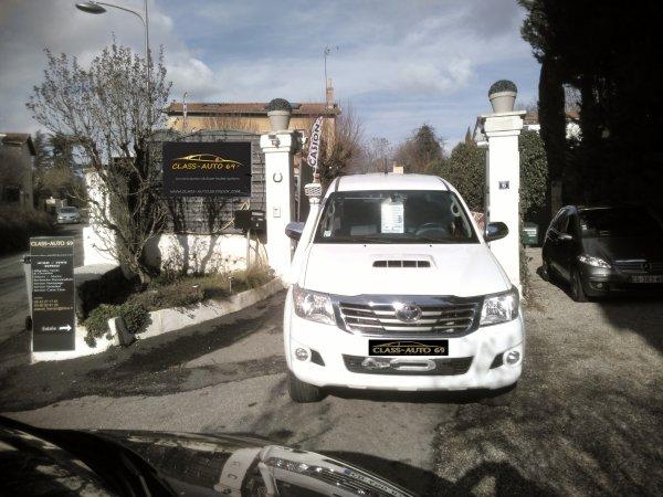 Toyota hilux III D-4D 3l double cab 77000km AN 04/2012 SUPER ÉQUIPÉ (VENDU LE 14/03/2016)