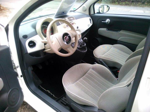 FIAT 500 LOUNGE S/STOP 1.3L JTD 95CV AN 11/2012 AVEC 59500KMS (VENDU LE 13/02/2016)