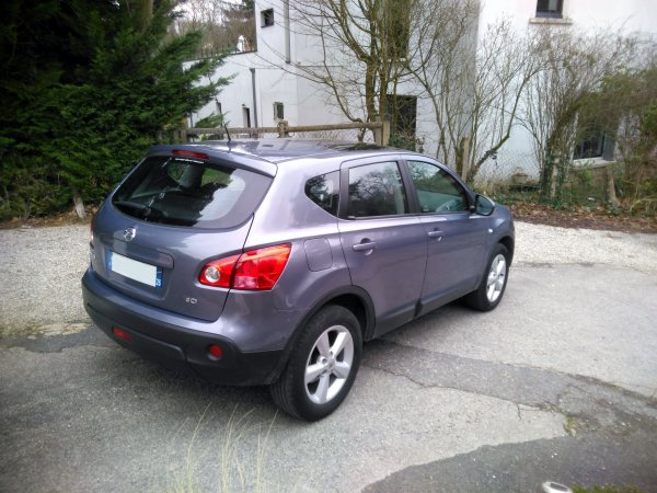 NISSAN QASHQAI 2L DCI 150CV ALL MODE 4X4 TEKNA AN 03/2008 149500KMS (VENDU LE 13/03/2016)
