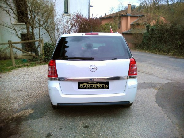 superbe Opel zafira 1.7l CDTI 125cv AN 11/2012 avec 84000kms 1er main (VENDU LE 20/05/2016)