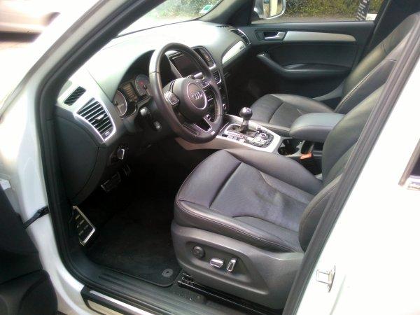 AUDI SQ5  3l V6 TDI 313cv AN 05/2013 70000kms 1ER MAIN S TRONIC 8 (VENDU LE 21/07/2016)