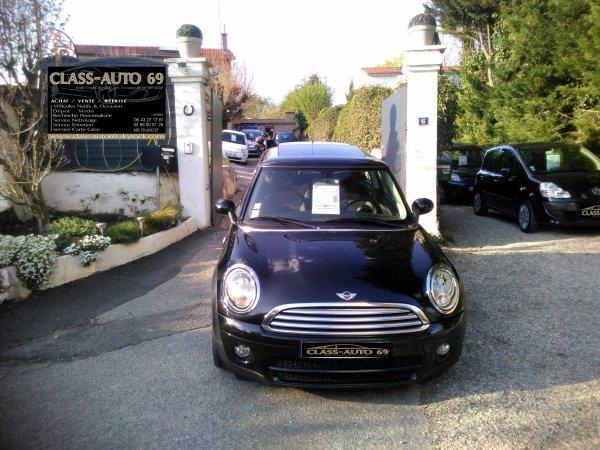 MINI ONE D 1.6L 110CV BOITE AUTO AN 05/2009 106000KMS (VENDU LE 02/07/2016)