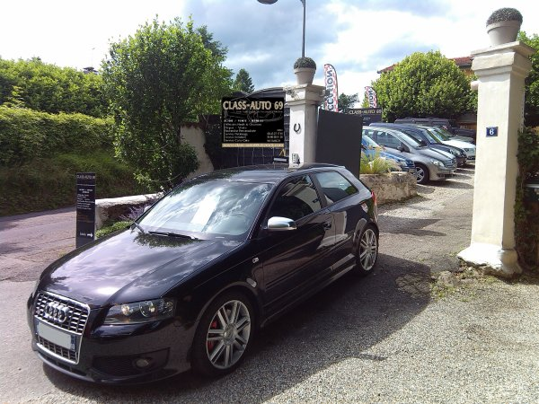 TRES BELLE AUDI S3 2L TFSI 265CV AN 06/2007 73000KMS FULL OPTIONS (EN STOCK)