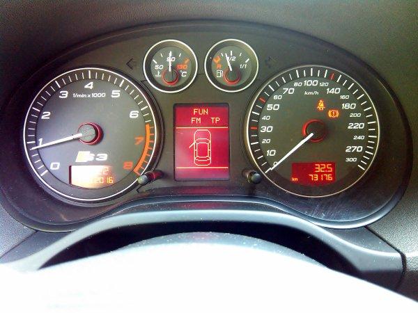 TRES BELLE AUDI S3 2L TFSI 265CV AN 06/2007 73000KMS FULL OPTIONS (EN STOCK)