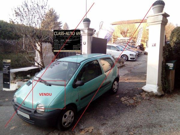 TWINGO A REVISEE 1.2L 58CV AN 11/1999 AVEC SEULEMENT 85000KMS PRIX 990¤ (VENDU LE 12/02/2017)