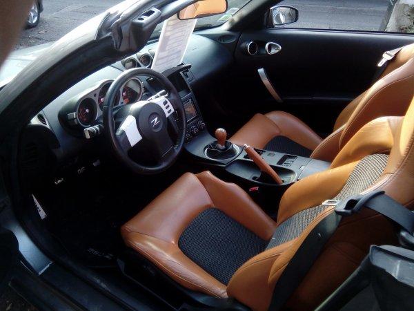 TRES BELLE NISSAN 350Z CABRIOLET 3.5L V6 280CV AN 03/2005 AVEC 83000KMS (VENDU LE 29/03/2017)