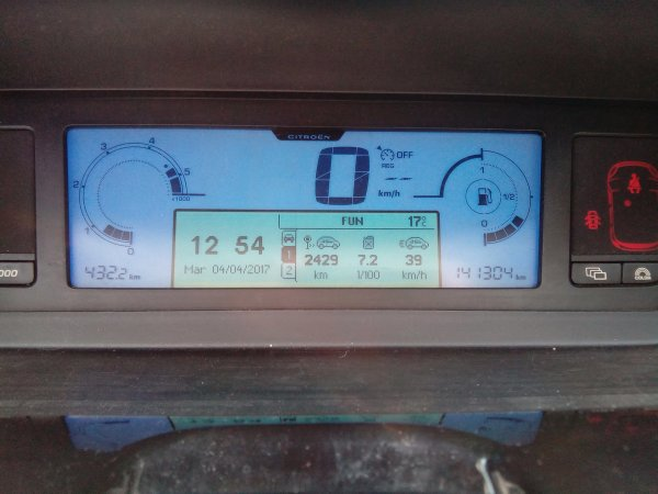 GRAND C4 PICASSO 7 PLACES 1.6L HDI 110CV AN 06/2008 141000KMS TOUT REVISEE (VENDU)