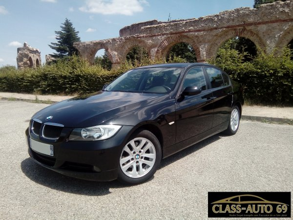 TRES BELLE BMW E90 318D 143CV CONFORT AN 04/2007 190000KMS (EN STOCK)