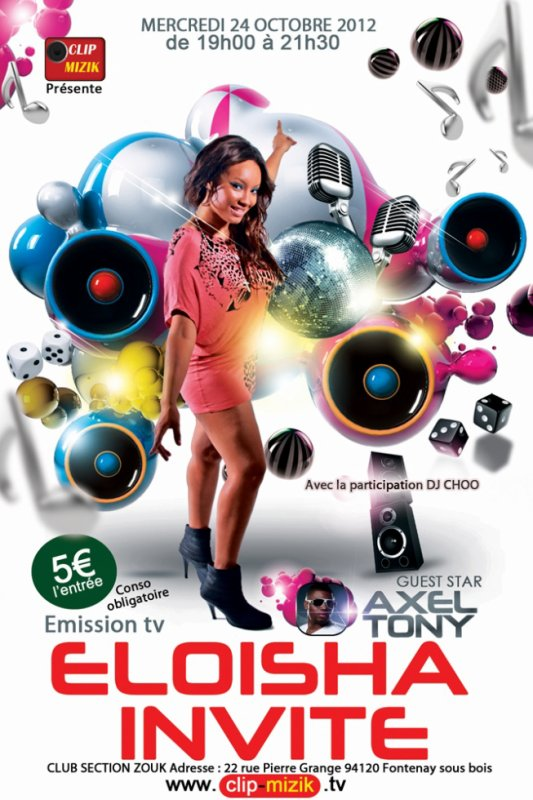 L'EMISSION ELOISHA INVITE EST DE RETOUR !!
