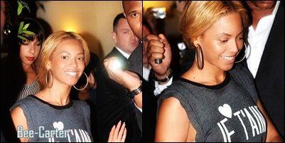 Beyoncé in Paris (suite)