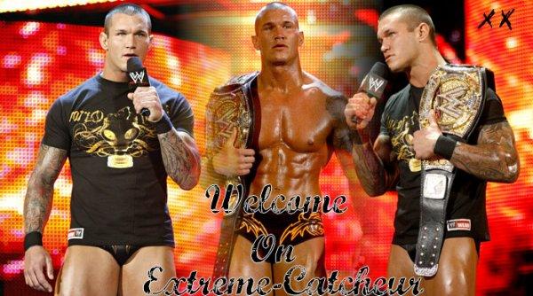#1 Bienvenue sur mon blog on Extreme-Catcheur
