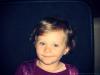 Ma nièce sur son trône de princesse =)