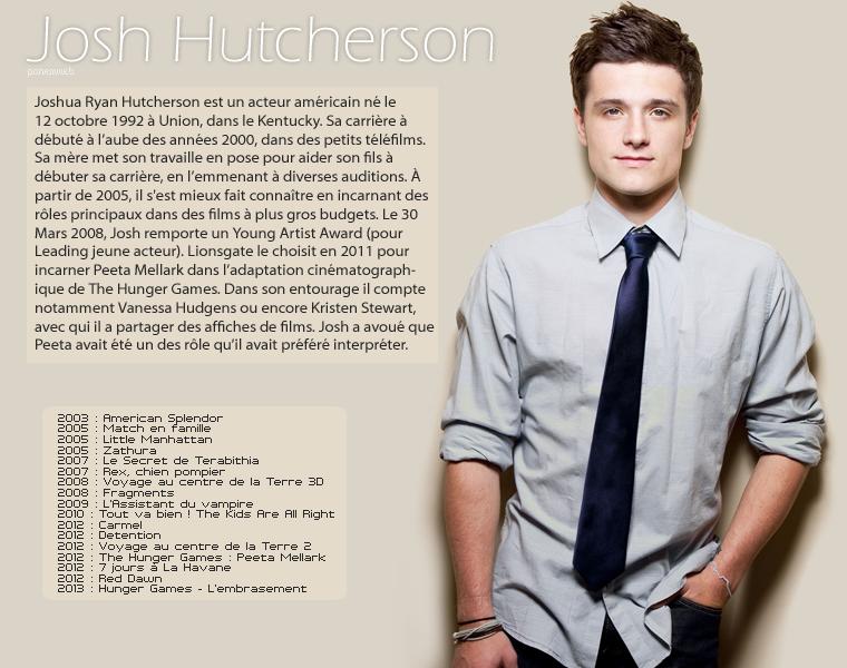 ᘛ Josh Hutcherson ᘚ