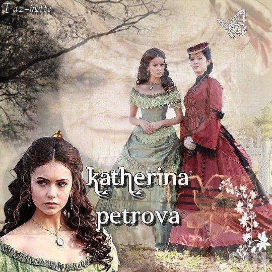 Montage De Katherina Petrova (Nina Dobrev)