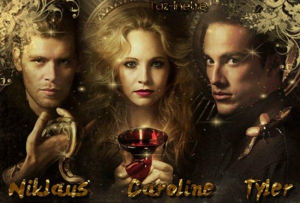 Klaus, caroline & Tyler