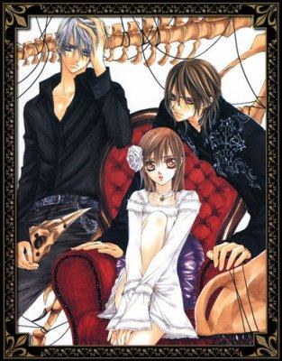 Vampire Knight : le manga
