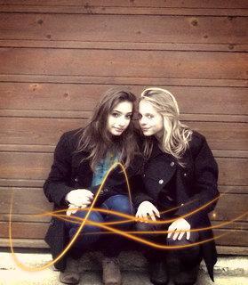 Christelle and Christelle ! <3