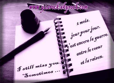 ☆ Il y a des chagrins d'amour que le temps n'efface pas, qui laissent aux sourires des cicatrices imparfaites. ☆