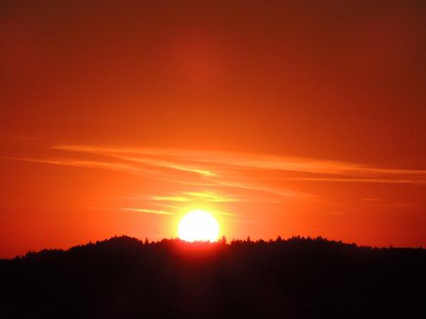 Couché du soleil