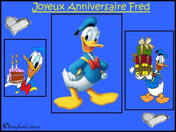 Joyeux Anniversaire Fred Bienvenue Dans Un Monde Ou Vos Reves