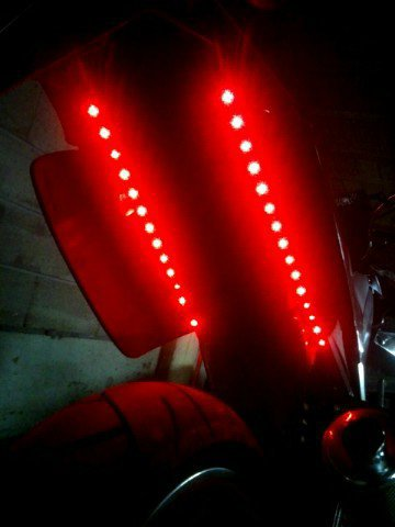 neon a led rouge