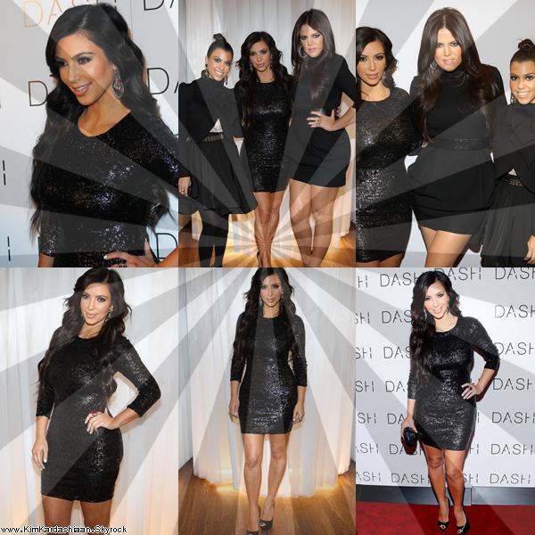 3/11 Les Soeurs Kardashian A L'Ouverture De Dash A New-York .