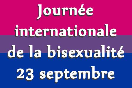 Journée de la Bisexualité....