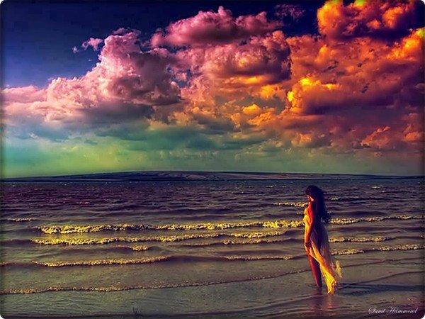 Trouver une place à vous, là où il y'a de la joie et la joie consumera la douleur