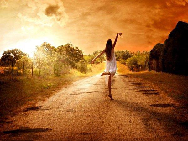Le bonheur n'est pas au bout du chemin, le bonheur est le chemin